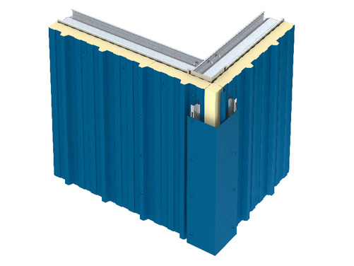 Insulated Panel Corner O Connor Roofing Supplies